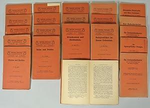 BIBLISCHE ZEITFRAGEN GEMEINVERSTÄNDLICH ERÖRTERT. Ein Broschürenzyklus. Sammlung von...