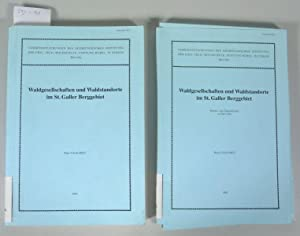 Waldgesellschaften und Waldstandorte im St. Galler Berggebiet. Textband + Karten- und ...