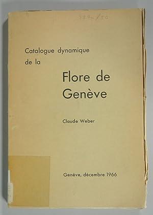 Catalogue dynamique de la Flore de Geneve. Triage special de Boissiera 12. Geneve, Decembre 1966.: ...