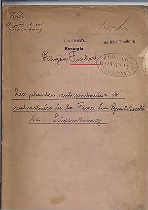 Les plantes naturalisees ou introduites en Belgique. Bull. Soc. Bot. Belg., IX 1870.: Devos, Andre: