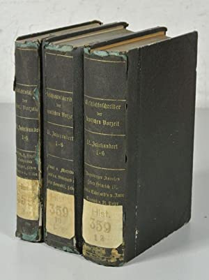 DIE GESCHICHTSCHREIBER DER DEUTSCHEN VORZEIT IN DEUTSCHER BEARBEITUNG, 18 Bände: .X., XI. und ...