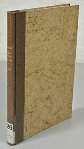 Index Herbariorum. Part I. THE HERBARIA OF: Stafleu, F.A. [ed.]