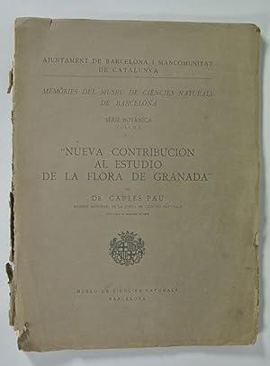 Nueva Contribucion al Estudio de la Flora: Pau, Carlos: