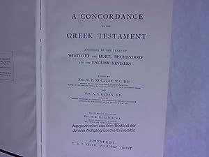 A Concordance to the Greek Testament.: Moulton, W. F. [ed.]:
