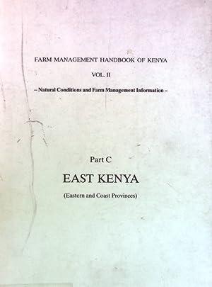 Farm Management Handbook of Kenya Volume II/C.: Jätzold, Ralph: