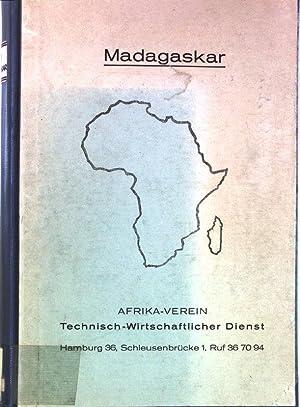 Voraussetzungen und möglichkeiten einer industriellen Entwicklung in Madagaskar.: Kratz, Achim...