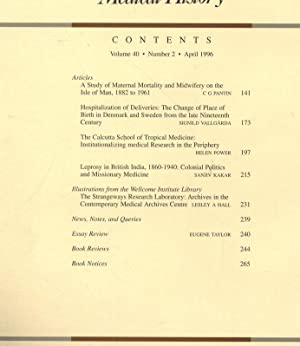 Leprosy in British India, 1860-1940 - Colonial