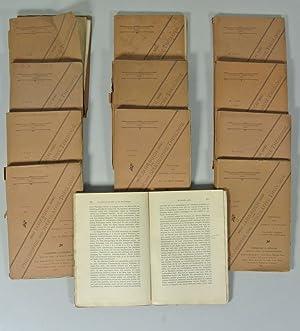 JAHRBUCH FÜR PHILOSOPHIE UND SPEKULATIVE THEOLOGIE, 12 Ausgaben: 1. Jahrgang (1887), 2. ...