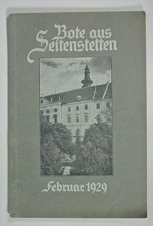 Bote aus Seitenstetten, Februar 1929. SELTEN!! (Enthält u.a.: Wiedersehensfest der ...