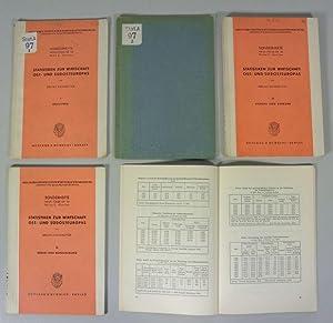 Statistiken zur Wirtschaft Osteuropas, Teil 1 - 5. 1.: Industrie; 2.: Landwirtschaft; 3.: Handel ...