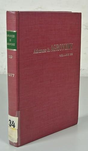ADVANCES IN AGRONOMY, Volume 29 (1977). Prepared: Brady, N. C.