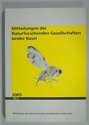 MITTEILUNGEN DER NATURFORSCHENDEN GESELLSCHAFTEN BEIDER BASEL, Vol.: Pusching, Andre [red.]: