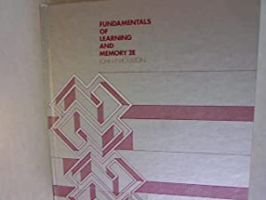 Fundamentals of Learning and Memory.: Houston, John P.: