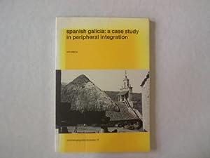 Spanisch galicia: a case study in peripherial integration. Utrechte Geografische Studies, Nr. 18.: ...