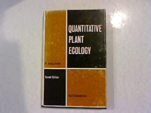Quantitative Plant Ecology.: Greig-Smith, P.: