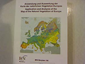 Anwendung und Auswertung der Karte der natürlichen Vegetation Europas. Application and ...