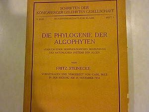 Die Phylogenie der Algophyten. Vorgetragen und vorgelegt von Carl Mez in der Sitzung am 25. ...