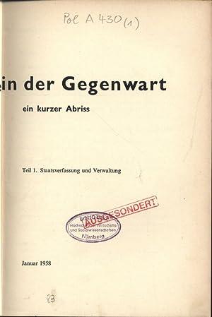 Niederlande in der Gegenwart. Ein kurzer Abriss. Teil 1: Staatsverfassung und Verwaltung.