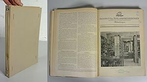 Institut für Auslandsbeziehungen - Mitteilungen, 1. Jahrgang (1951) - 3. Jahrgang (1953). Die ...