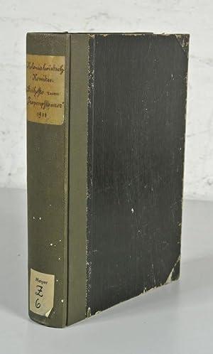 BEIHEFTE ZUM TROPENPFLANZER, Jahrgang 12 (1911). Komplett, in einem Band. (Enthält u.a.: Die ...