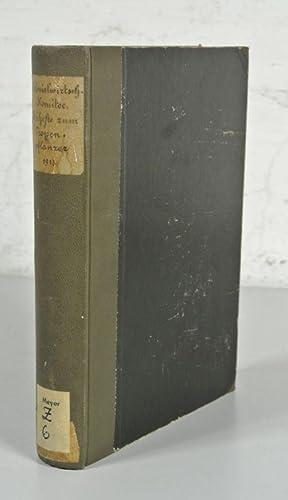 BEIHEFTE ZUM TROPENPFLANZER, Jahrgang 14 (1913), Nr. 1 - 5, in einem Band. (Enthält u.a.: Die ...