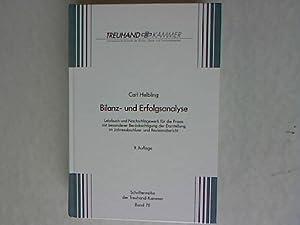 Bilanz- und Erfolgsanalyse. Lehrbuch und Nachschlagewerk für die Praxis mit besonderer Ber&...