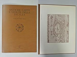 Antiche Carte e Vedute della Sicilia I. RARE!!! A cura di tindaro Gatani.: Gatani, Tindaro [ed.]: