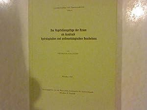 Die Vegetationsgefüge der Itazue als Ausdruck hydrologischen und sedimentologischen Geschehens...