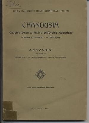 Chanousia. Giardino botanico Alpino dell'Ordine Mauriziano (Piccolo S. Bernardo - m. 2200 m&#...