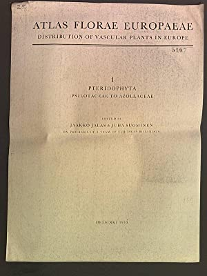 Atlas Florae Europaeae Distribution of vascular plants: Jalas, Jaakko: