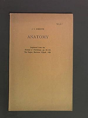 Manual of Pteridology: Chap. II: Anatomy: Schoute, J.C.: