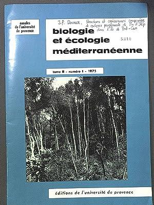 Structures et croissances compares de quelques peuplements: R., Desbrosse: