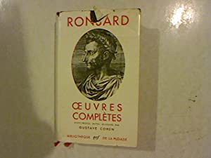 Ronsard. Oeuvres Completes. Tome II: Cohen, Gustave: