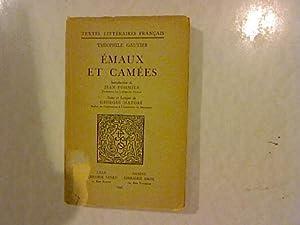 Emaux et Camees. Introduction de Jean Pommier,: Gautier, Theophile: