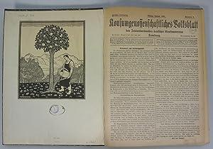 Konsumgenossenschaftliches Volksblatt des Zentralverbandes deutscher Konsumvereine, Hamburg., 5. ...