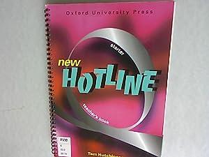 New Hotline Starter: Teacher's Book.: Hutchinson, Tom: