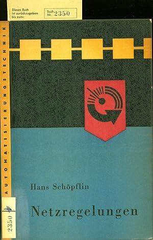 Netzregelung.: Sch�pflin, Hans: