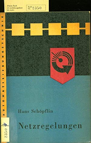 Netzregelung.: Schöpflin, Hans: