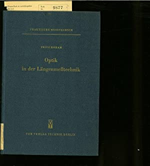 OPTIK DER LAENGENMESSTECHNIK.: HODAM, F.:
