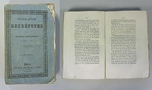 Biographie des deputes de la Chambre septennale de 1824 a 1830.: Tyronne, P.M.F. Massey de: