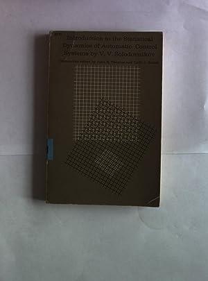 Introduction to the Statistical Dynamics of Automatic: Solodovnikov, V. V.: