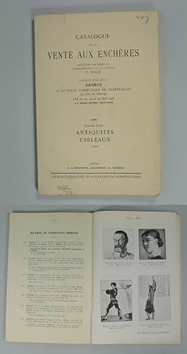 Catalogue de la vente aux encheres effectuee par ordre de l' Administration de la faillite F(...