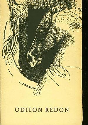 Odilon Redon. Gemeentemuseum den Haag, 3 mei - 23 Juni 1957.: Bloch, Vitale: