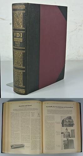 VDI Zeitschrift des Vereins Deutscher Ingenieure (Z. VDI), 95. Jahrgang (1953). (Enthält z.B.:...