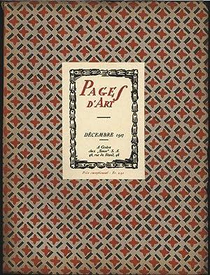 Emile Patru (18 illustrations dont 2 planches en couleur), in: PAGES D'ART, Decembre 1917. ...