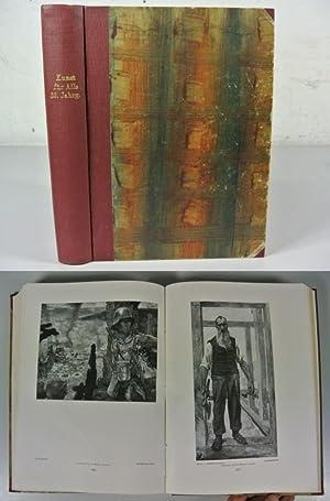 DIE KUNST FÜR ALLE. 33. Jahrgang (1917-1918): Nr. 3 - 24. Gebunden. (Enthält z.B.: K&uuml...