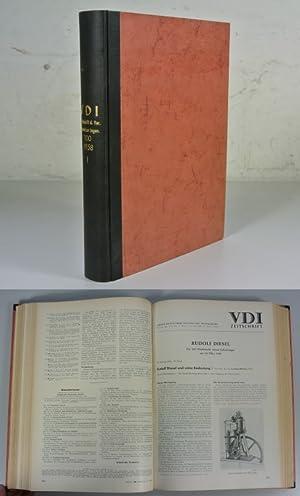 VDI ZEITSCHRIFT / Zeitschrift des Vereines Deutscher Ingenieure, Band 100 I, 100. Jahrgang (...