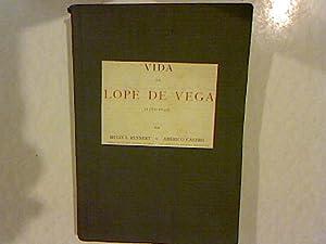 Vida de Lope de Vega (1562 - 1635).: Rennert, Hugo A.: