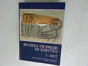 Rivista ticinese di diritto: I-2012: Borghi, Marco: