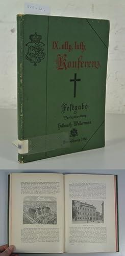 Aus dem kirchlichen Leben Braunschweigs. Festgabe für die Teilnehmer der IX. allgemeinen ...